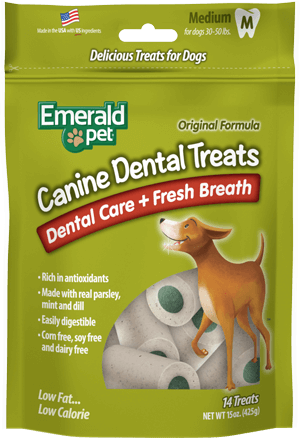 Canine Dental Treats | Dental Care + Fresh Breath