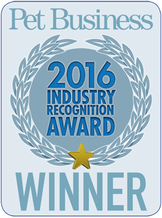 2016 Pet Business Award Winner