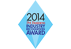 2014 pet business industry recognition award