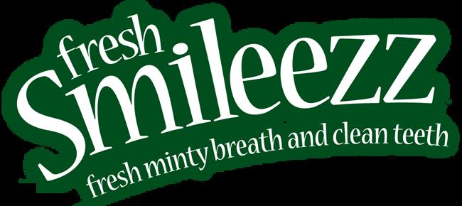 fresh Smileezz, fresh minty breath and clean teeth