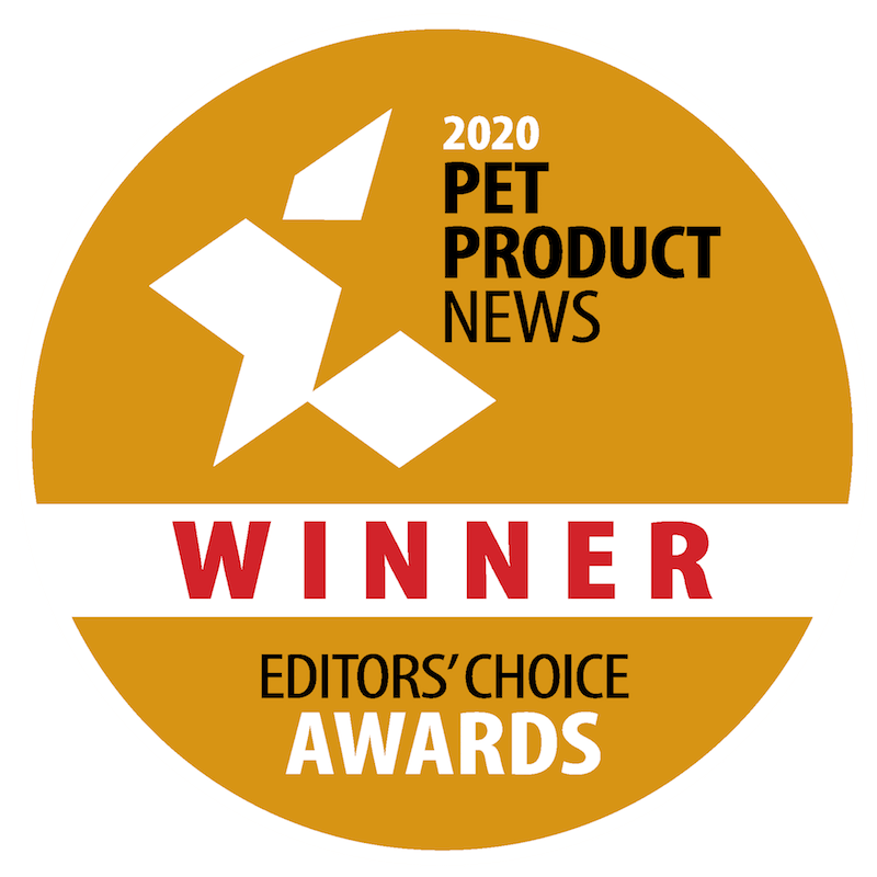 2020 Pet Product News Editor's Choice Winner