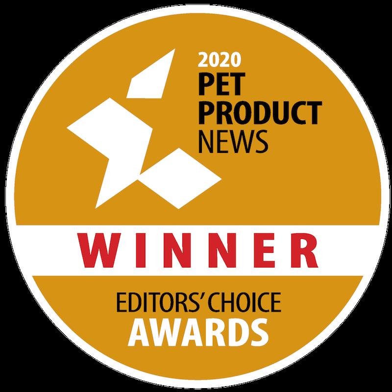2020 Pet Product News Editor's Choice Winner
