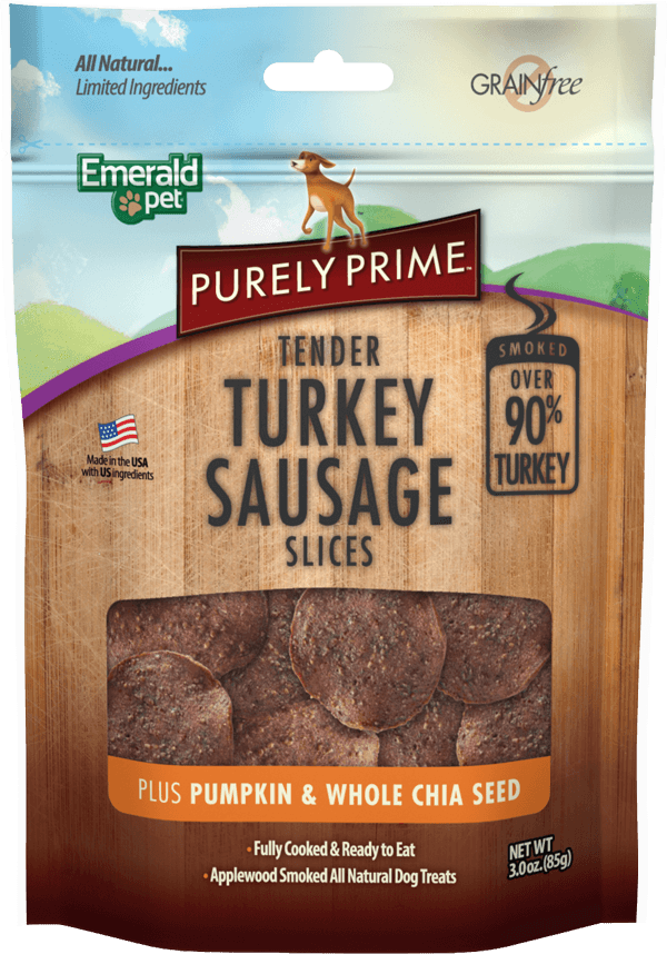 Purely Prime | Turkey Sausage plus Pumpkin & Whole Chia Seed