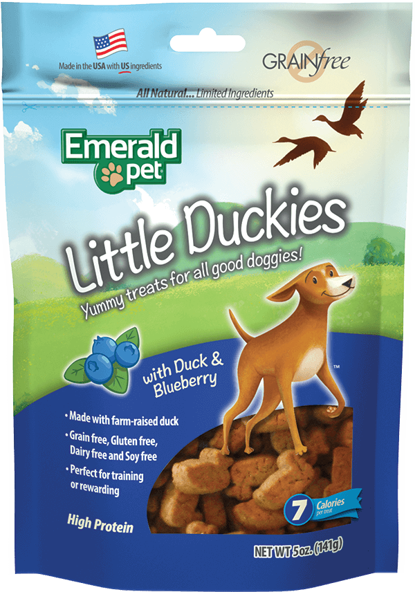 Little Duckies Treats | Duck & Blueberry