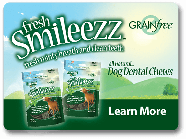 Fresh Smileezz all natural dog dental chews