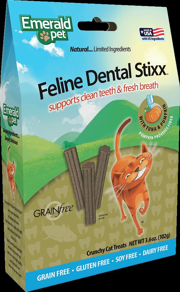 Feline Dental Stixx - Tuna and Pumpkin