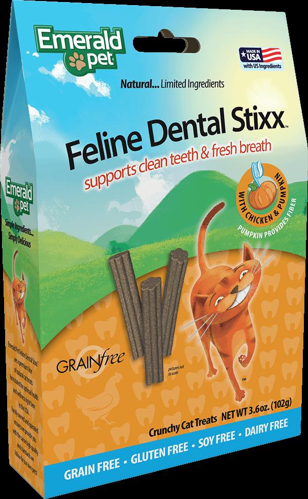 Feline Dental Stixx - Chicken with Pumpkin