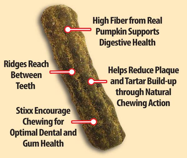 Helps  Reduce Plaque & Tartar Buildup
